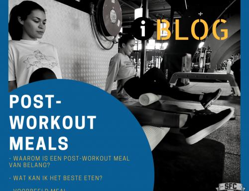 Post-workout maaltijden